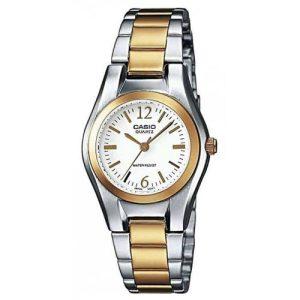 LTP-1280PSG-7AEF-Casio ® Collection női karóra 94892fbaef